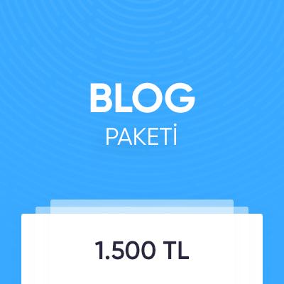Blog Paketi
